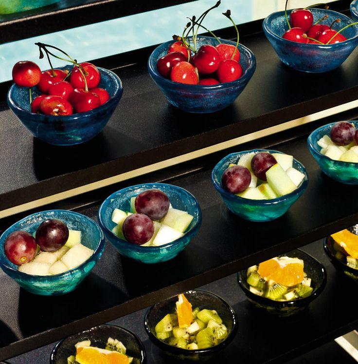 Open glass bowls -Miniature