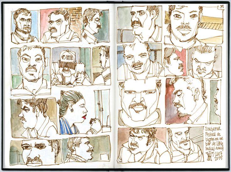 Life Stories - Pushing Your Sketching Boundaries in Bristol on June.   Urban Sketchers