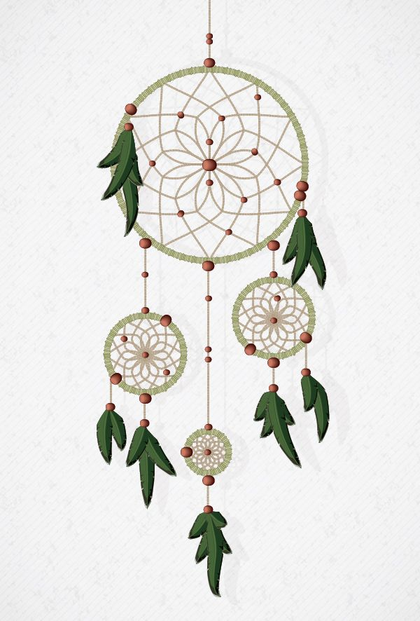 How to Create a Vector Dream Catcher with Brushes in Adobe Illustrator: