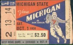 1938 at Ann Arbor: Michigan 14, Michigan State 0