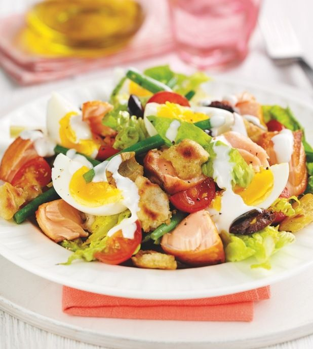 Lucy Meck and Paul Merrett's recipe for protein packed salad