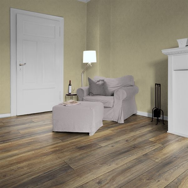 Shop Kronotex 12mm Harbour Oak Embossed Laminate Flooring At Lowe S Canada Find Our Selection Of Laminate Fl Laminate Flooring Flooring Oak Laminate Flooring