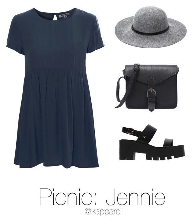 """Picnic: Jennie"" by kapparel ❤ liked on Polyvore featuring Glamorous, Ashley Stewart and Windsor Smith"