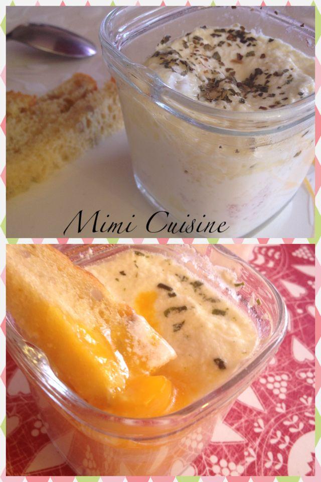 Oeufs cocottes jambon gruyère by Multi-Délices - Mimi Cuisine