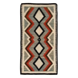 "...the ladies would be so grateful for the hospitality, that they would chip in on this $1148 Navajo 2'10"" x 5'6"" Rug which I would use as a tapestry for my #CambriaQuartz kitchen walk in pantry..."