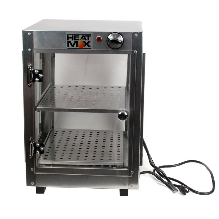Commercial 110V Countertop Food Warmer Display Case w/ Water Tray 14x14x20