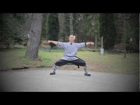 ▶ Qi Gong: Shaolin Ba Duan Jin (8 Brocade Exercise) / Shi Heng Yi   释恒義 - YouTube
