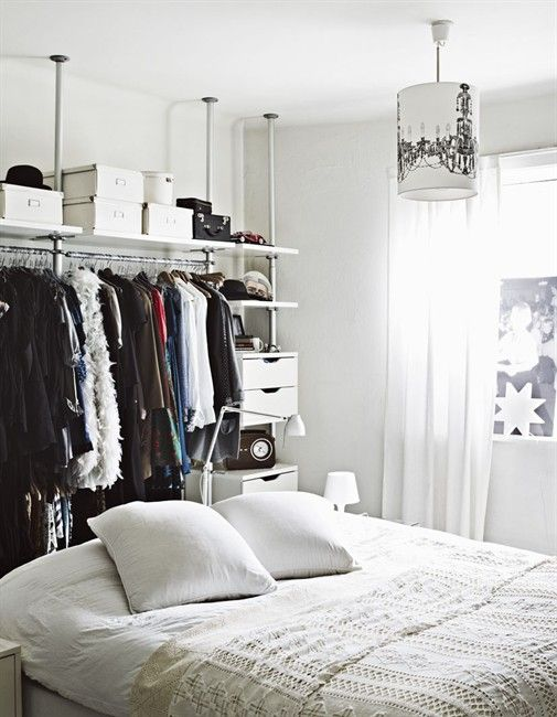 open closet closet ideas pinterest wardrobe systems. Black Bedroom Furniture Sets. Home Design Ideas