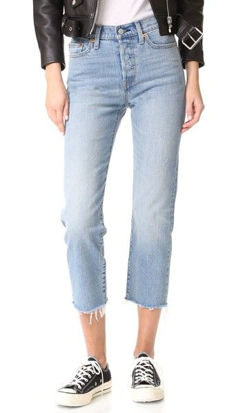 Levi's Wedgie Straight Jeans in Rough Tide | Shop Basic Tees & Jeans