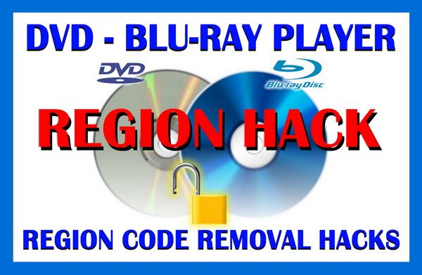 DVD Player Region Code Removal Hacks