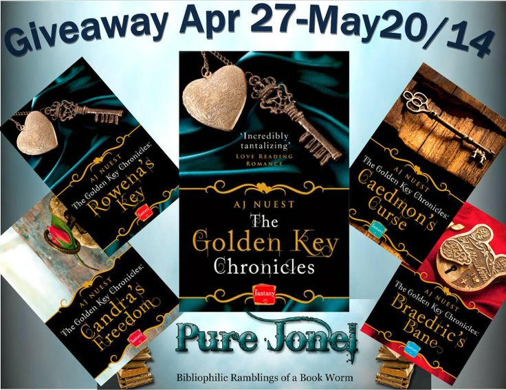 5 ginormous stars and a giveaway for  for Rowena's Key by A.J. Nuest