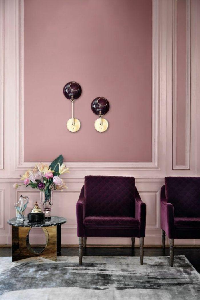 1001 Ideen Fur Bilder Fur Wandfarbe Altrosa Die Modern Und Stylisch Sind Home Decor Home Decor