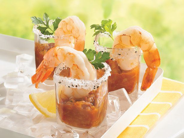 Get ready for raves! Individual zesty shrimp cocktails will be a hit at your next get-together.