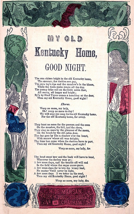 my outdated kentucky dwelling goodnight