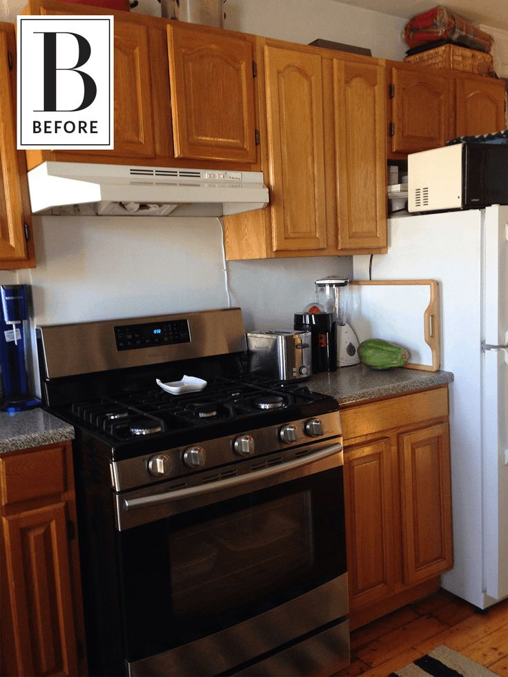 Before & After: A Basic Brooklyn Kitchen Goes Mediterranean