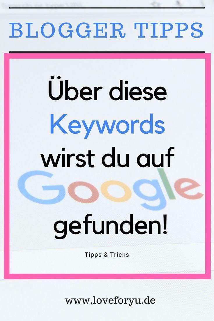 Über diese Keywords wirst du über Google gefunden – SEO Tipps für deine Webseite