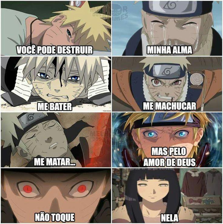Naruto e o seu amor pela Hinata é incomparável ❤