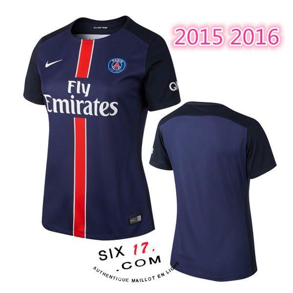 Ensemble maillot psg femme domicile 2016 boutique officielle