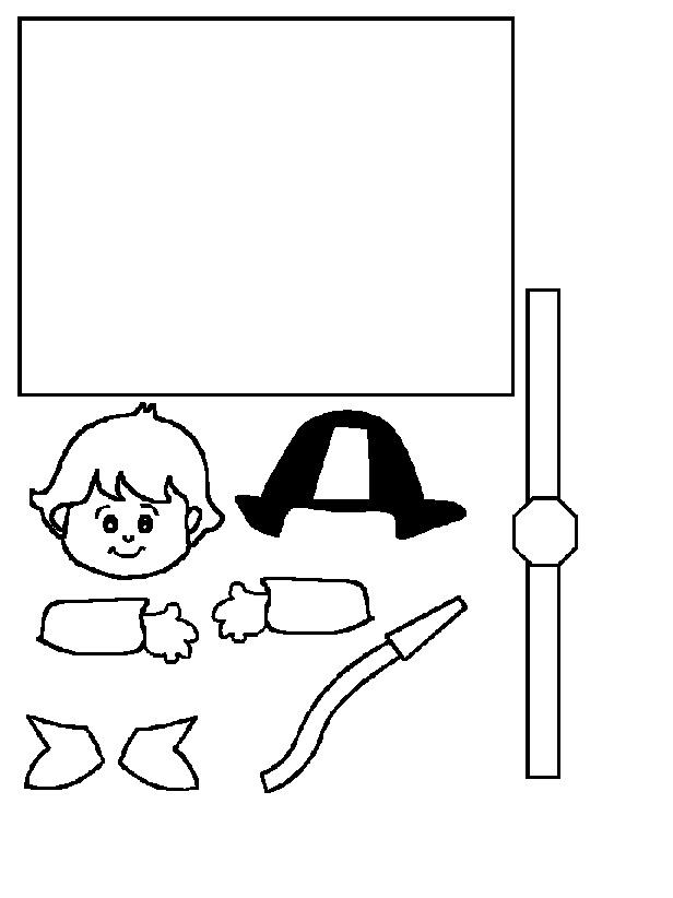 KleuterDigitaal - wb wc rol brandweerman