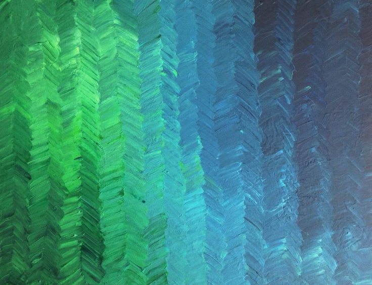 Chevron/Herringbone Blues & Greens