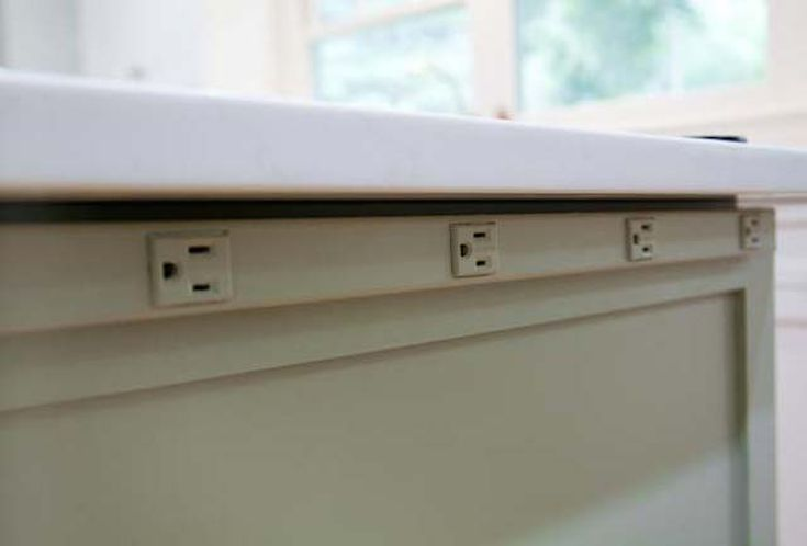 Don T Let Outlets Ruin Your Designs Kitchen Outlets Complete Kitchen Remodel Kitchen Island Electrical Outlet
