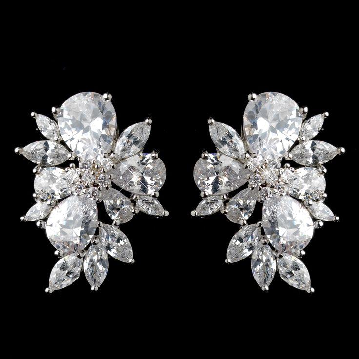 best 25 wedding earrings studs ideas on pearl
