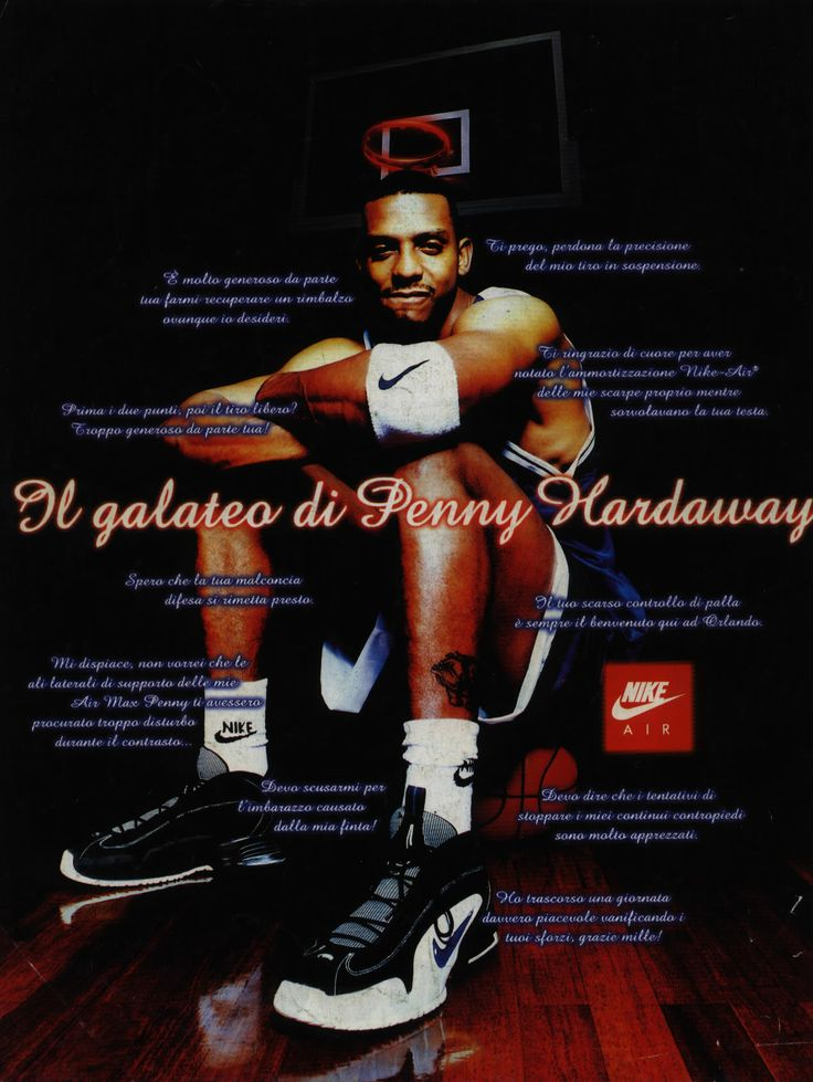 penny hardaway's good manners   nike air max penny feat. anfernee hardaway @Ballislife.com.com