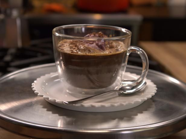 Get Cherry-Chocolate Affogato Recipe from Cooking Channel