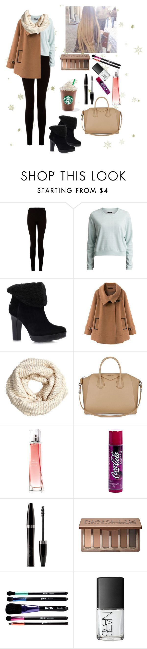 """It's just winter in Russia"" by eliza-redkina ❤ liked on Polyvore featuring VILA, UGG Australia, Chicnova Fashion, H&M, Givenchy, Mary Kay, Urban Decay, jane, NARS Cosmetics and StreetStyle"