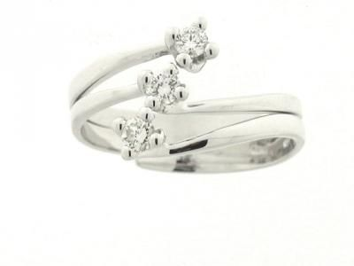 ANELLO Diamanti TRILOGY