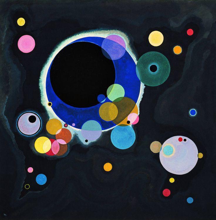 Wassily Kandinsky (Russian, 1866-1944). Several Circles (Einige Kreise), January-February 1926