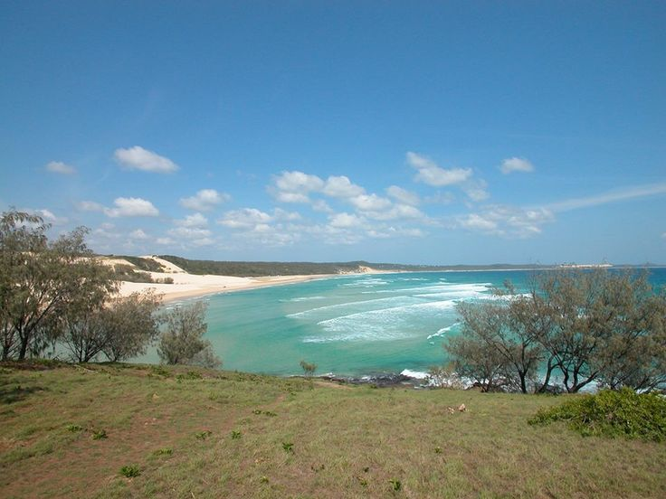 Marloo Bay from Waddy Point, Fraser Island