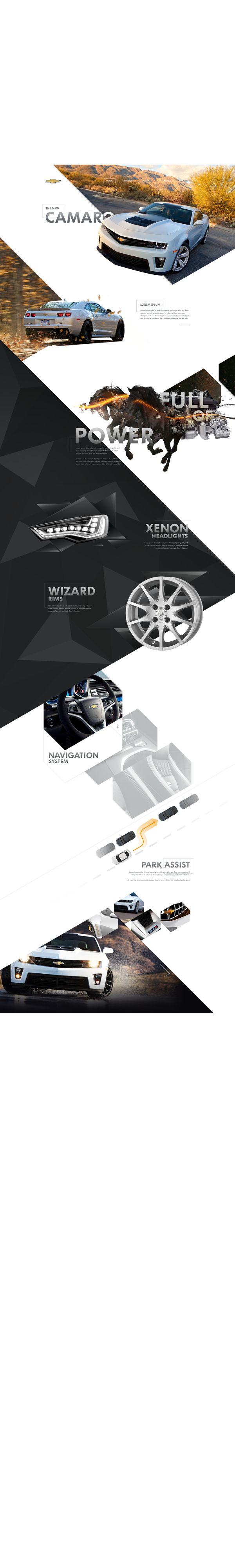 Webdesign Collection Vol.1 by Oliver Gareis, via Behance