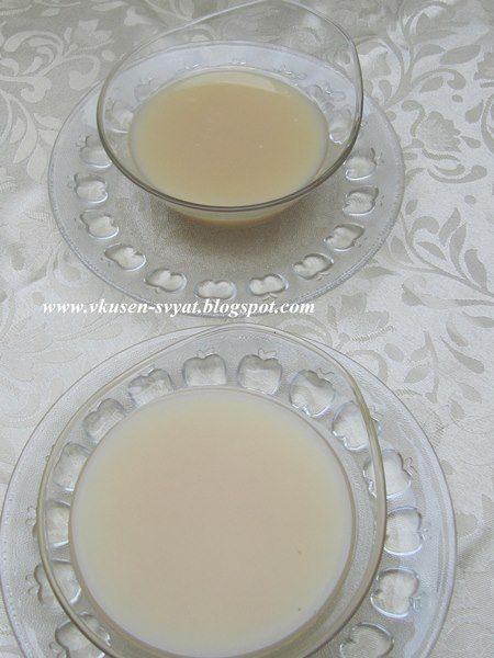 Delicious With Valya And Irina: Домашно подсладено кондензирано мляко