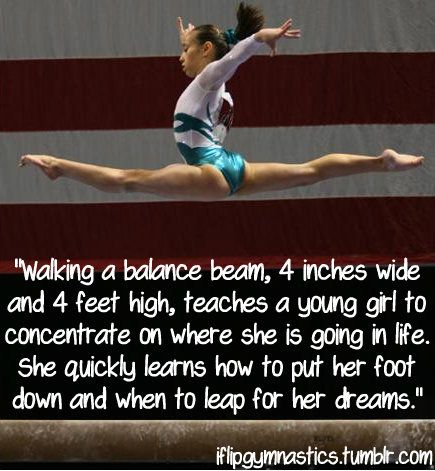 25 Best Ideas about Inspirational Gymnastics Quotes on