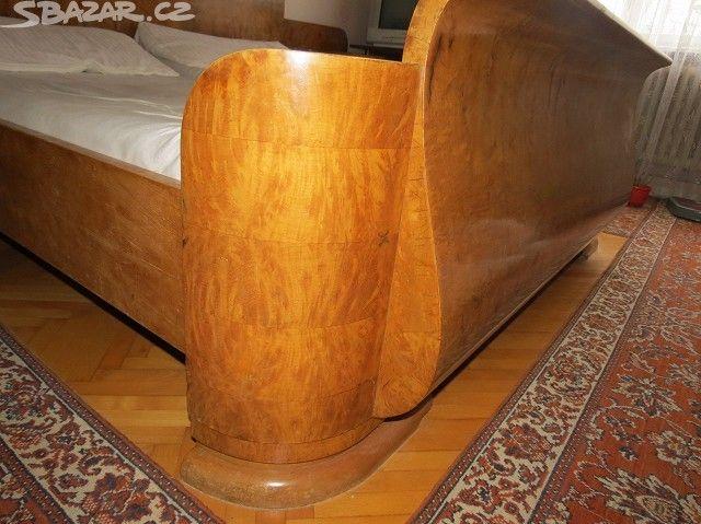 Starožitný nábytek, ložnice - LEVNĚ - obrázek číslo 8