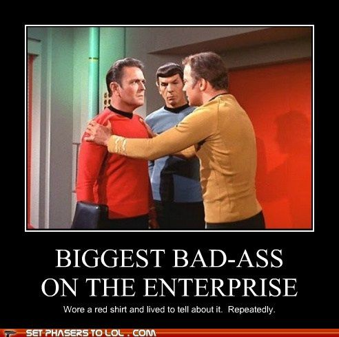 AND worked miracles at the same time.Geek Nerd, Geeky Things, Stars Trek, Geeky Nerd, Nerdy Geeky M, Shirts Legends, Geek Chic, Red Shirts, Geeky Stuff