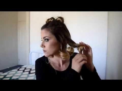 Rodeo Queen Hair Tutorial - YouTube