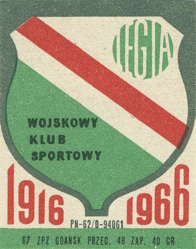 Polish matchbox label by Shailesh Chavda, via Flickr