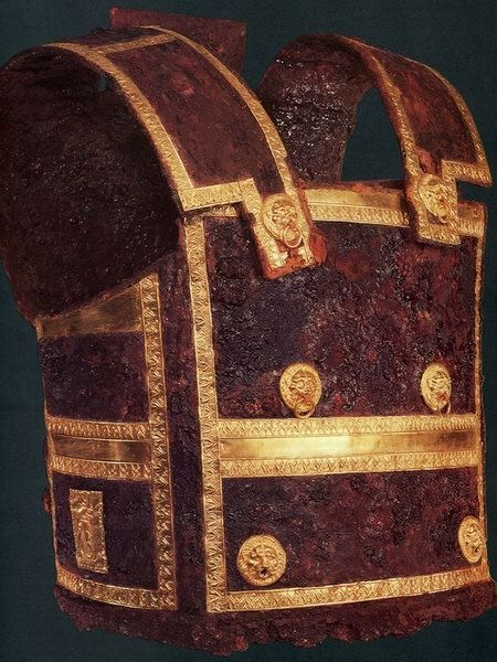 Philip of Macedon's armour - Vergina