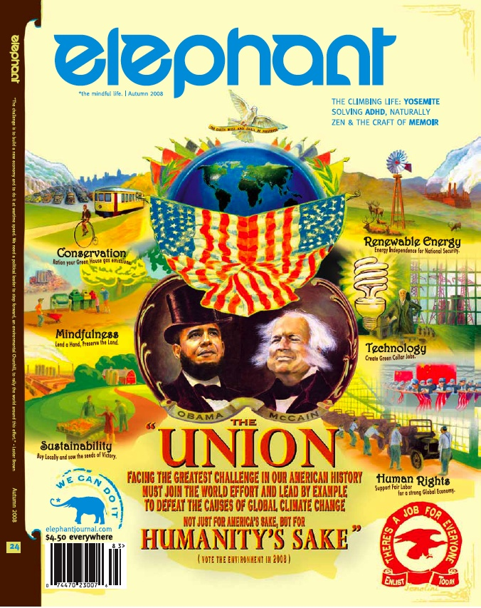 Oct 8, 2008  elephant journal's latest cover: Vintage Civil War Campaign Poster becomes Modern-day Call to Fight Climate Change. By Jay Tomlinson, of Tomolini.
