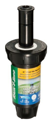 """Best price on Rain Bird 1802FDS 2"""" Professional Dual Spray Pop-Up Sprinkler, 360° Full Circle Pattern, 8' - 15' Spray Distance  See details here: http://bestgardenreport.com/product/rain-bird-1802fds-2-professional-dual-spray-pop-up-sprinkler-360-full-circle-pattern-8-15-spray-distance/    Truly a bargain for the inexpensive Rain Bird 1802FDS 2"""" Professional Dual Spray Pop-Up Sprinkler, 360° Full Circle Pattern, 8' - 15' Spray Distance! Take a look at this low cost item, read customers'…"""