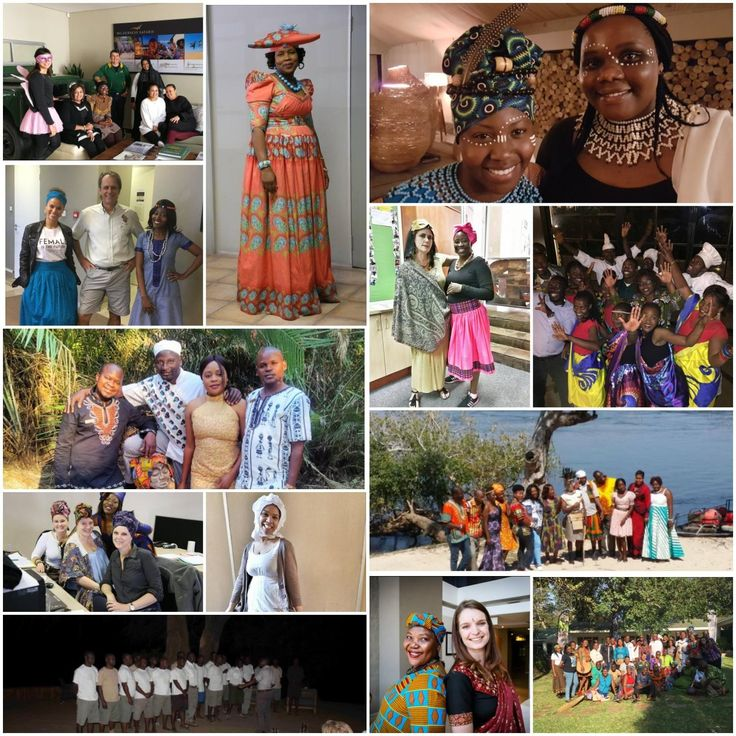 At Wilderness Safaris we celebrate Heritage Day on the last Friday of every August. From traditional dress to food, it's an uplifting opportunity for every single person in the company to showcase their culture and background, and what it means to them. We're delighted to share this colourful collage of Wilderness Heritage moments from last Friday in our offices and camps around our areas of operation from (clockwise, top left) Cape Town, Gaborone, Linkwasha, Windhoek, Maun, Windhoek…