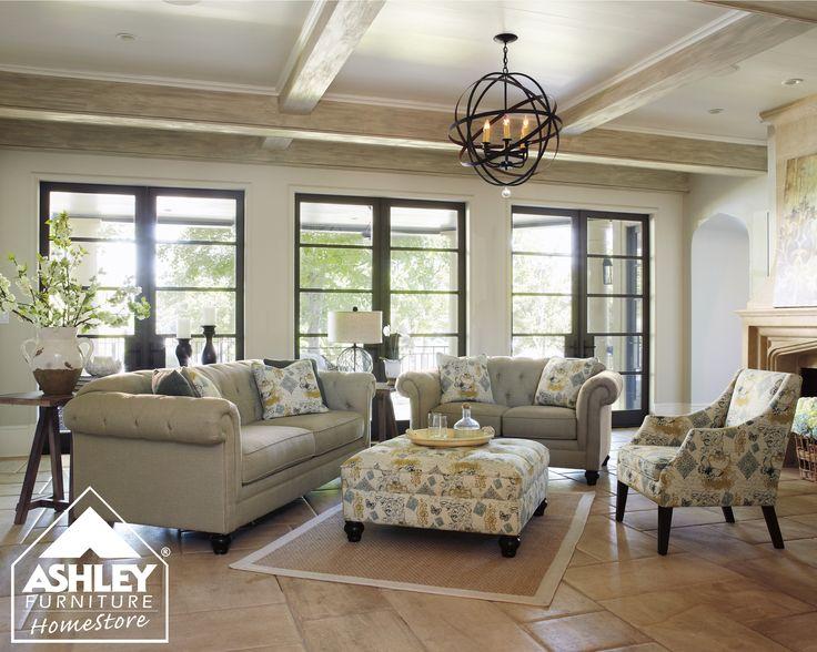 60 best Salas images on Pinterest Living room ideas, Space and - ashleys furniture living room sets