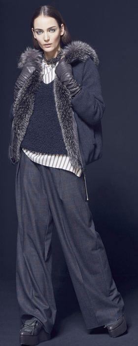 Зимняя верхняя одежда для полных на сезон Зима 2016-2017 - фото модных моделей