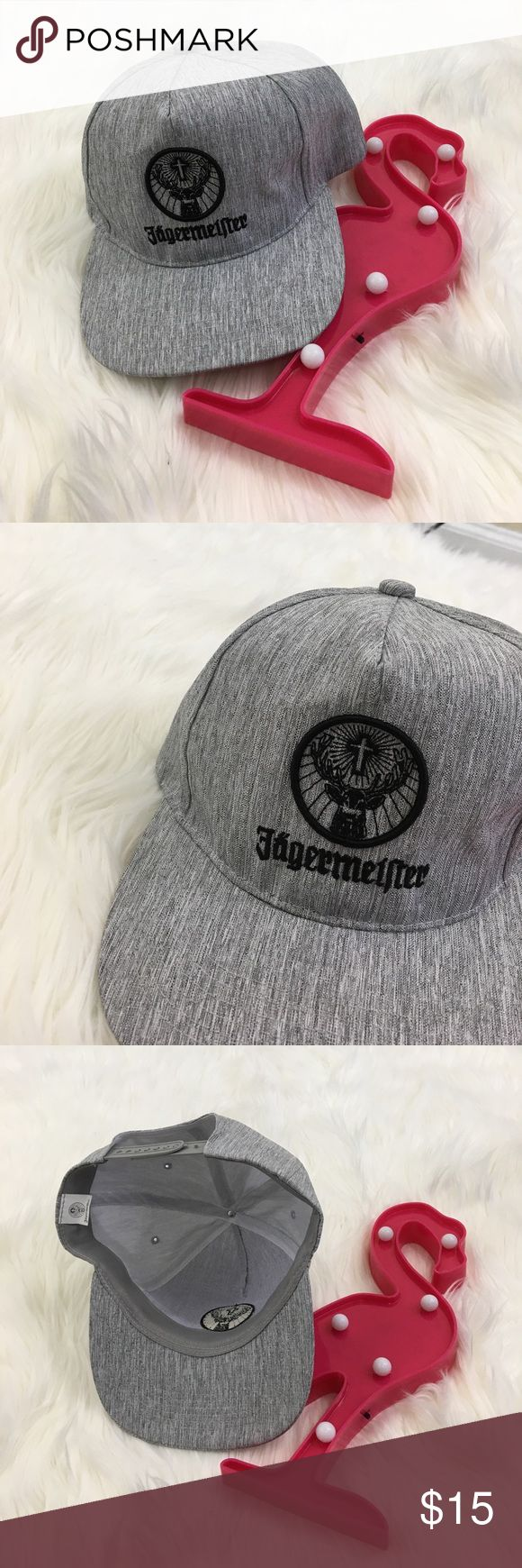 Jägermeister embroidered hat Pre-owned. In great condition. No flaws. One size fits all jägermeister Accessories Hats
