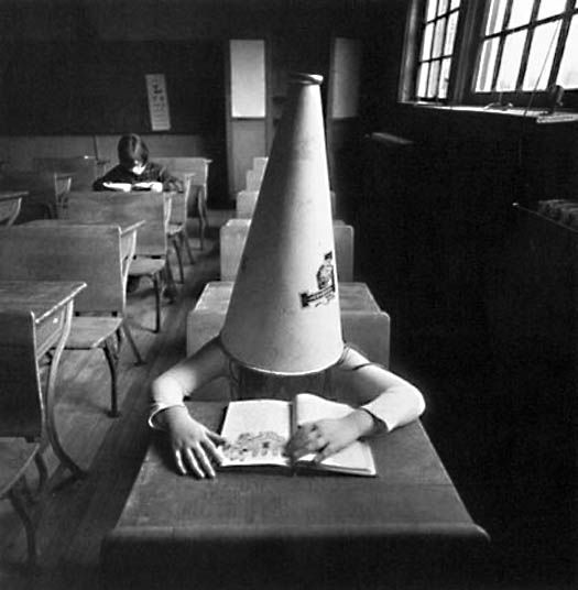 Girl with Dunce Cap, New York 1972 by Arthur Tress ...