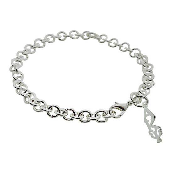 Alpha Kappa Psi Greek Sorority Bracelet Jewelry Rolo Lobster