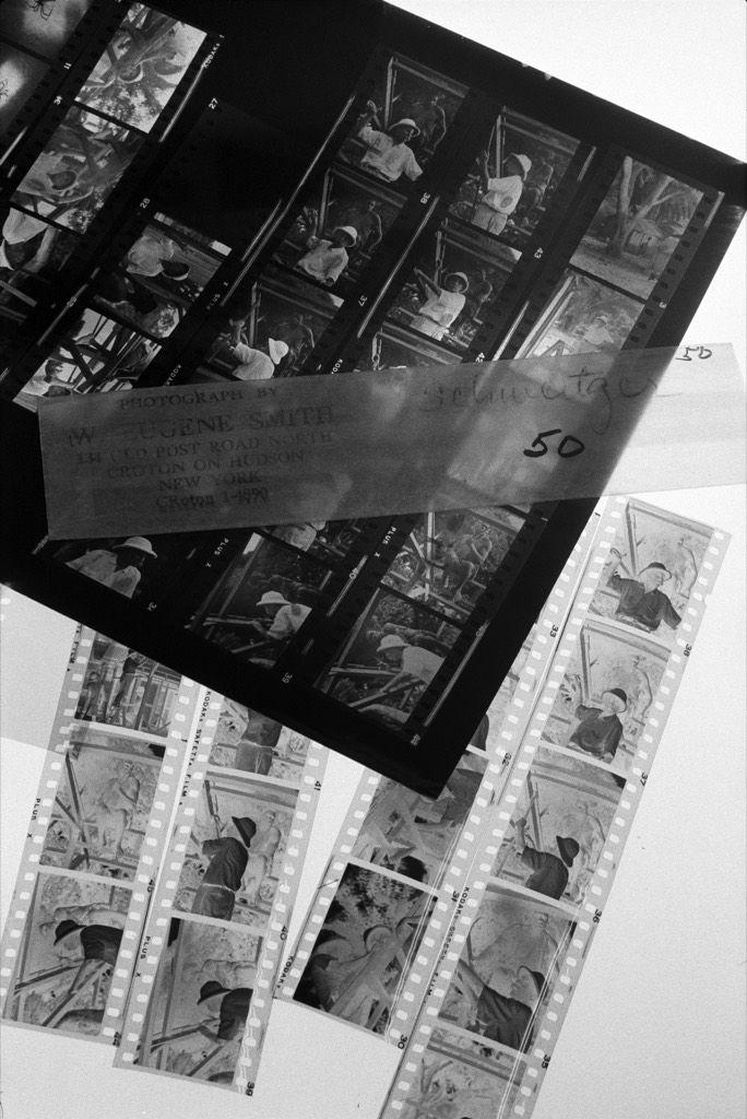 W. Eugene Smith, Dr. Albert Schweitzer, 1954,  Center for Creative Photography, University of  Arizona, Tucson. 11/78, ©1978 John Loengard