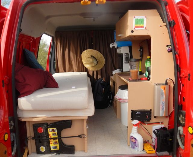 great ford transit connect conversion - Ford Transit Connect Interior Camper